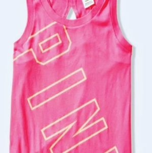 🆕VICTORIAS SECRET PINK SLEEVLESS MUSCLE TEE SMALL